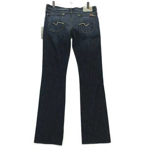 7 for all Mankind NWT Bootcut Jeans Womens Sz 30